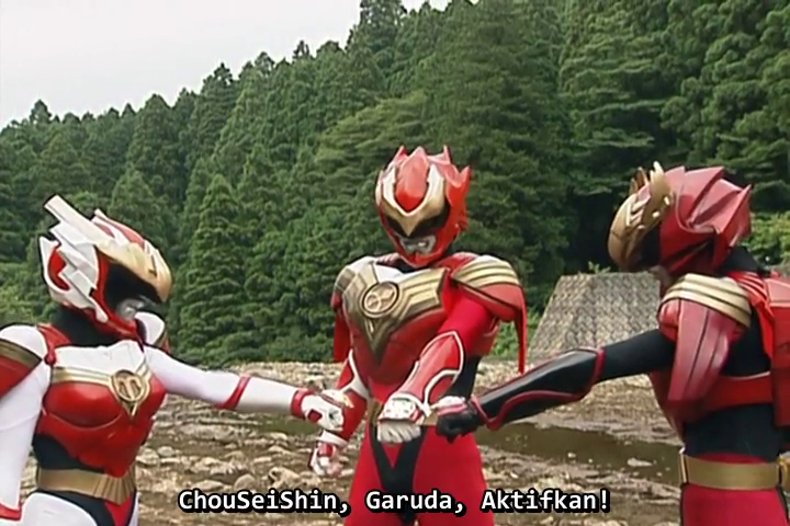 ChouSeiShin Gransazer 03 Subtitle Indonesia