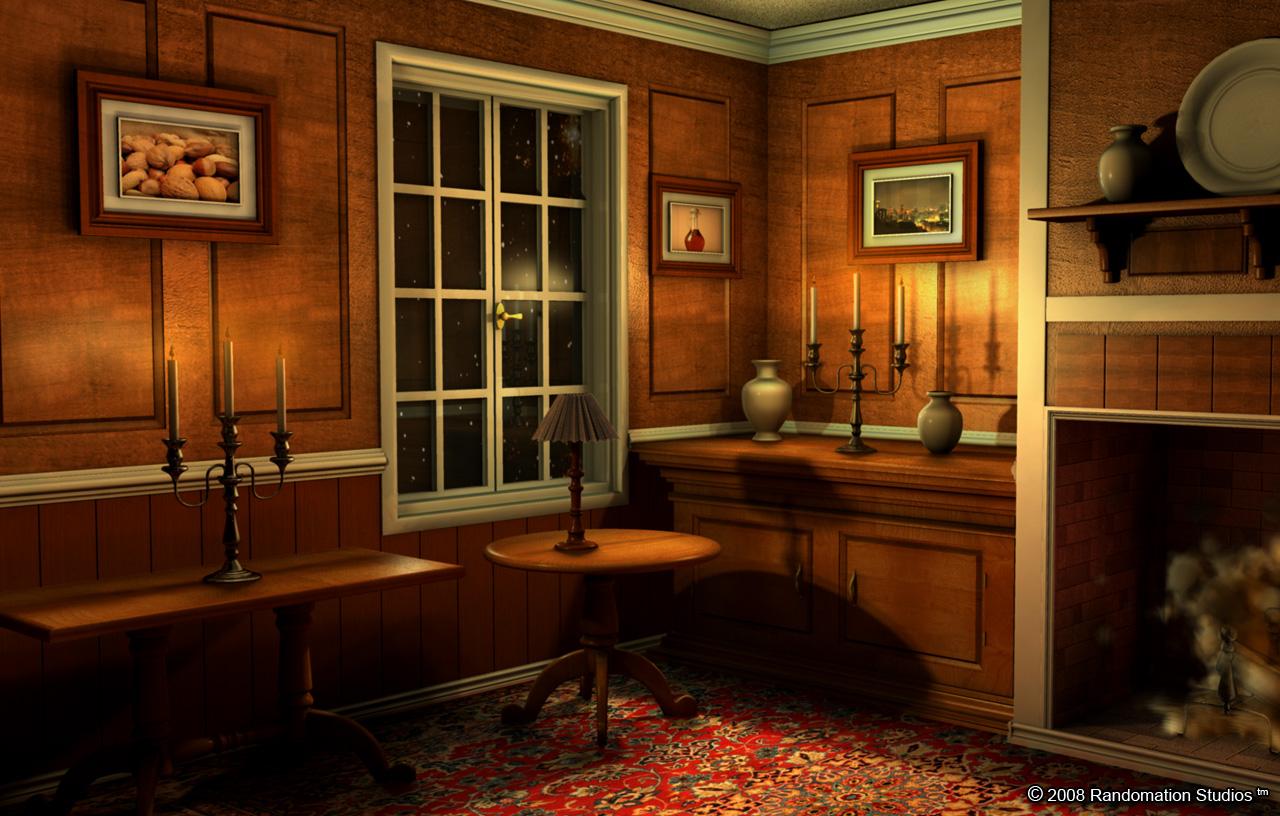 3d room 3d puzzle image