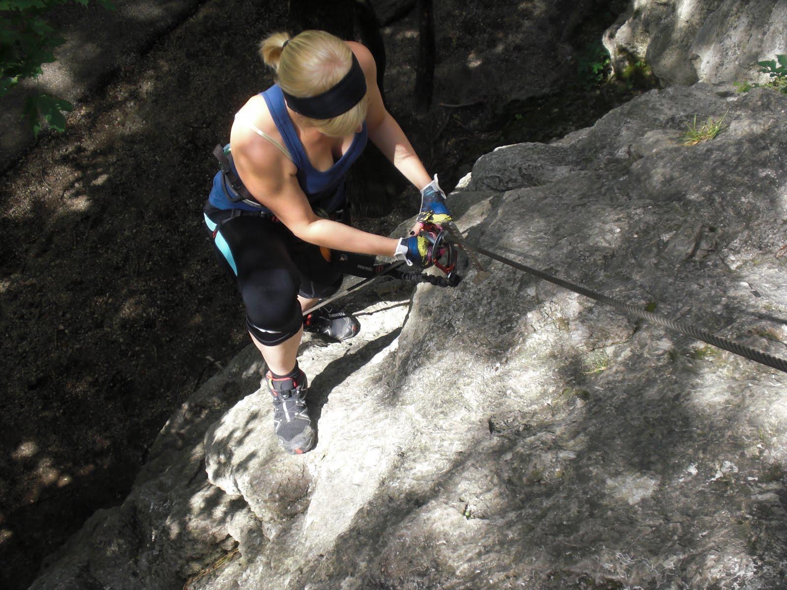Mödlinger Klettersteig : Rack´n´climb mödlinger klettersteig roter ofen