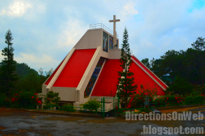 Holy Family Parish Church in Bakakeng is ideal for Visita Iglesia in Baguio