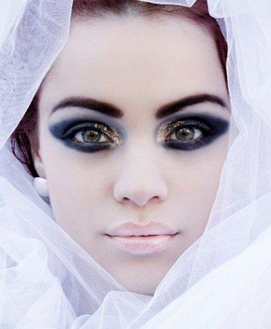 Креативный макияжм