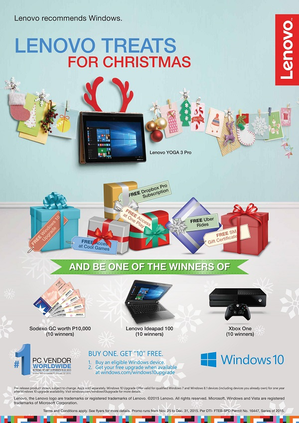 Lenovo Win10 Holiday Promo