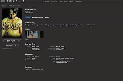 See FAMILIAR now on iTunes!