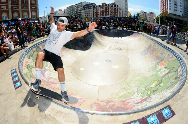 Pablo Tatu Martinez, King of Mar Del Plata Bowl Contest 2012