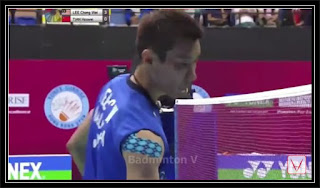 LEE Chong Wei vs TIAN Houwei | 2015 Hong Kong Open FINAL