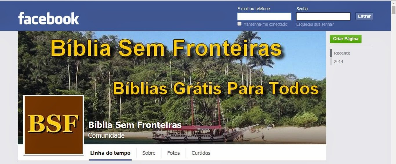 Curta BSF no Facebook