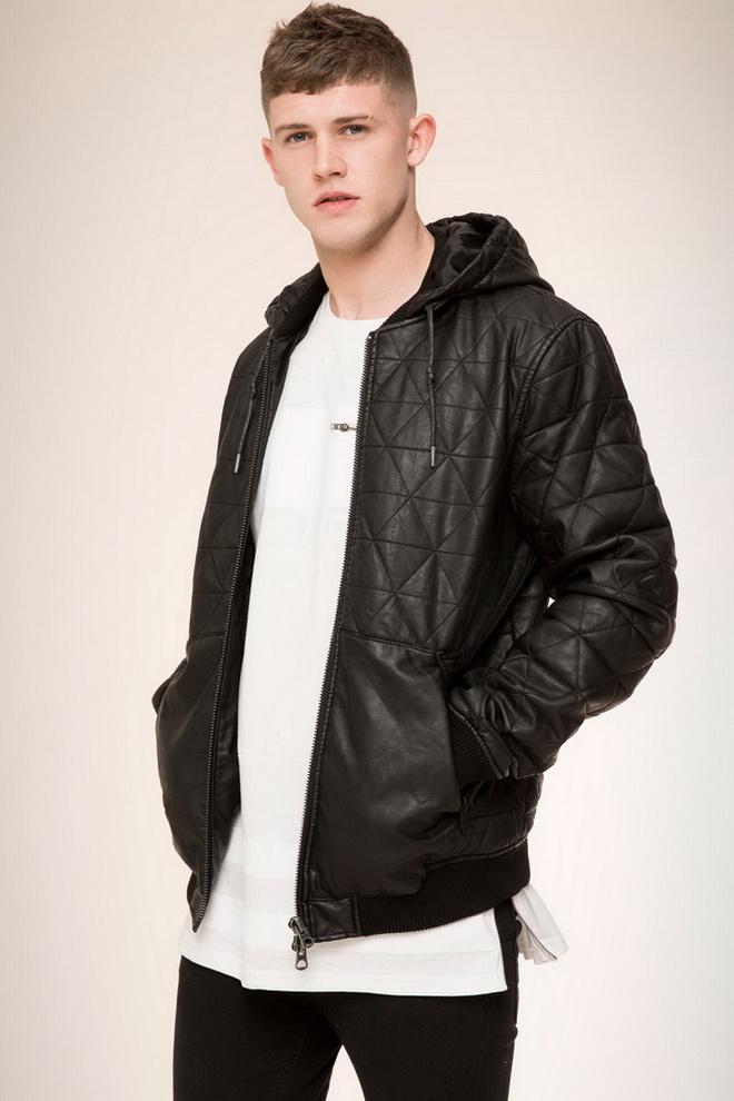 фото молодежных мужских курток кожаных зимних