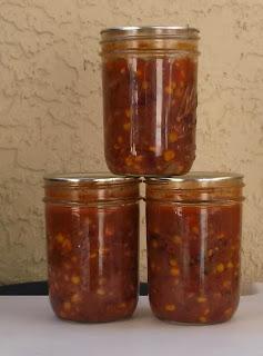 tacos in a jar