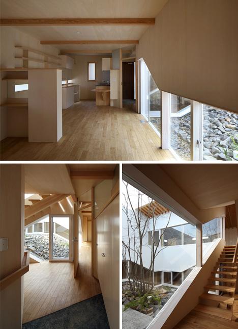 desain eksterior rumah minimalis modern yang tersembunyi