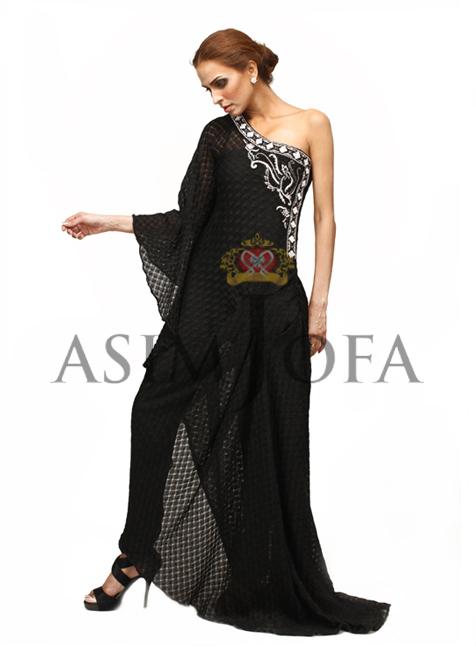 AsimJofaDesignerlongGowns28229 - Asim Jofa Semi Formal Long kameez Designs 2013 | Asim Jofa 2013