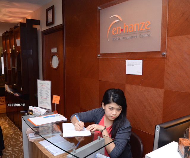 En-hanze Aesthetic Clinic, Phileo Damansara, remember to make your appointment first