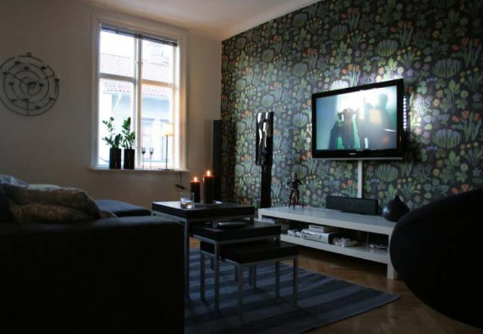 Small home theater room interior design ideas for Small theater room ideas