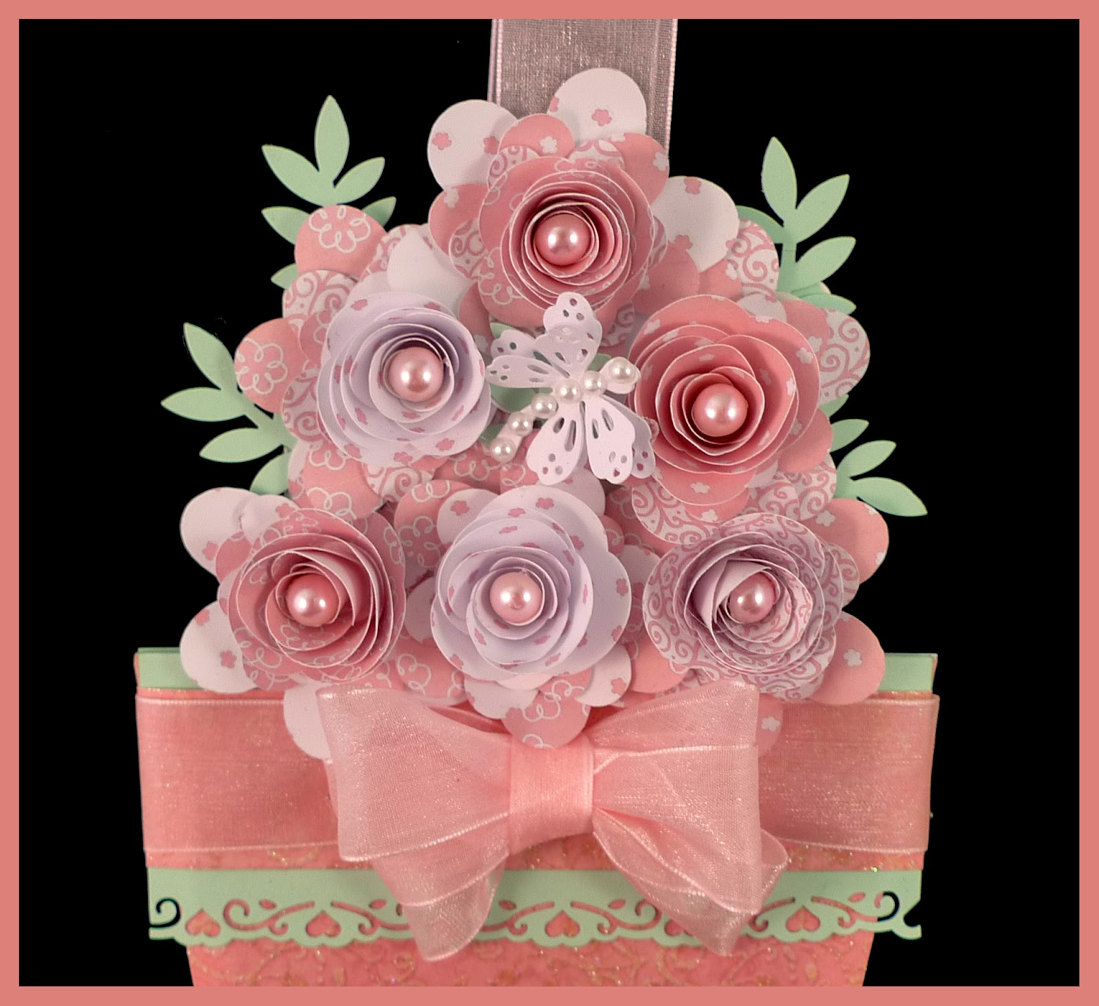 Suzies Card Den Flower Pot Card Happy Mothers Day