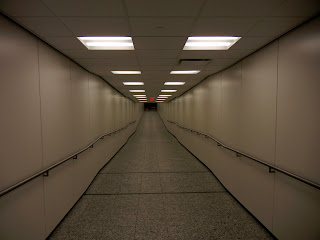 Inside the Houston underground tunnel system