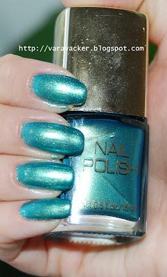 naglar, nails, nagellack, nail polish, grönt, hm
