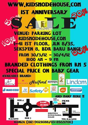 Kidsmodehouse Sale