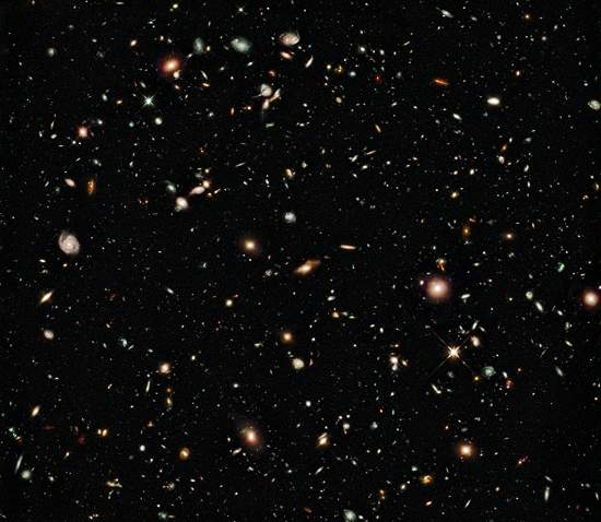 Mosaico do Hubble mostra Universo mais distante já visto