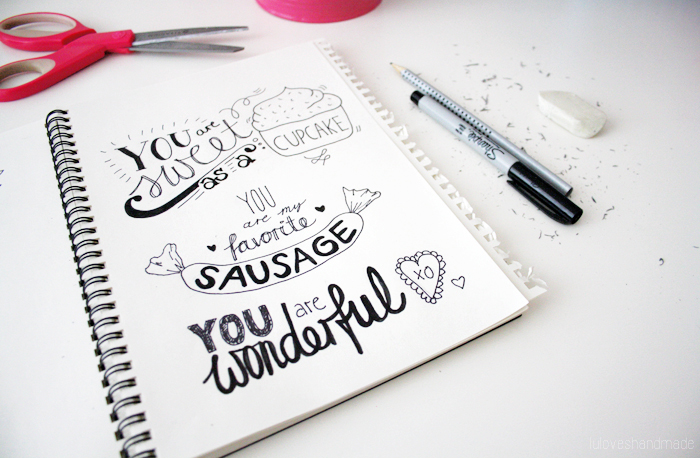Luloveshandmade: Getting Started with Handlettering (with ...