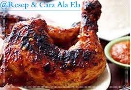 Ayam bakar bumbu bali