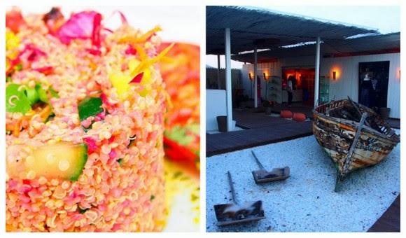 Geco vegetarian restaurant Ibiza