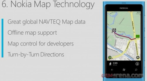 Navigatore con mappe Nokia su Windows phone 8