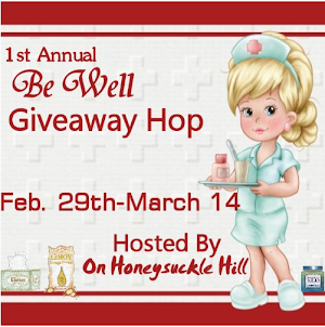 Be Well Giveaway Hop 2/29-3/14