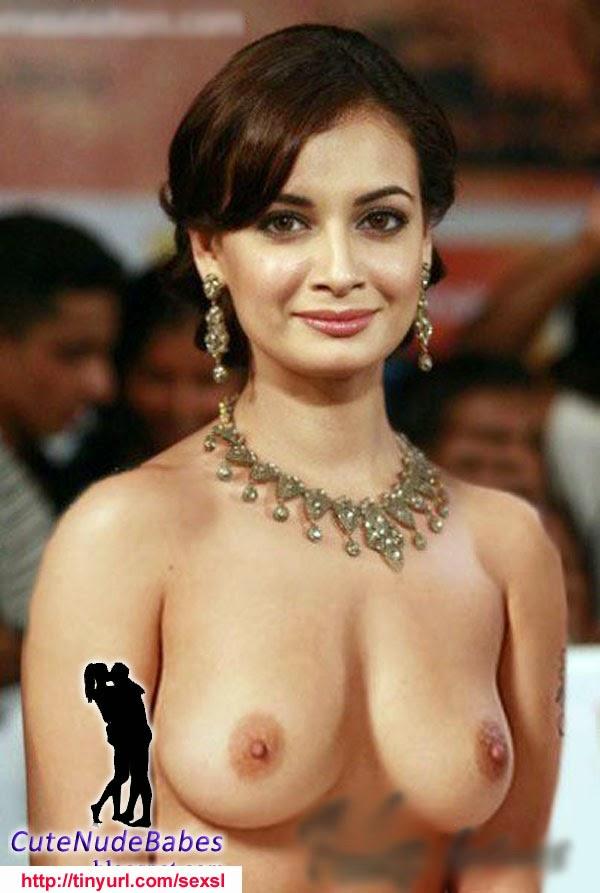 Diya Mirza Hot Boobs