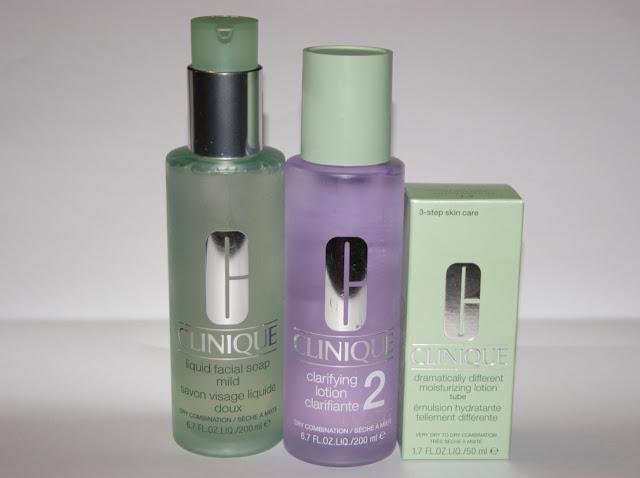 Clinique 3-Step Skin Care