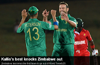 Zimbabwe vs South Africa T20 world cup 2012 highlights