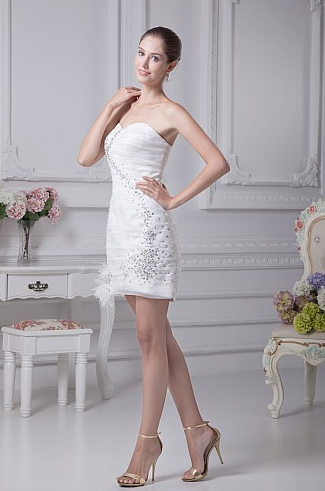http://www.artweddings.com/sweetheart-rhinestoned-organza-sheath-mini-wedding-dress-with-flower-decor-awhswd4u259-en/