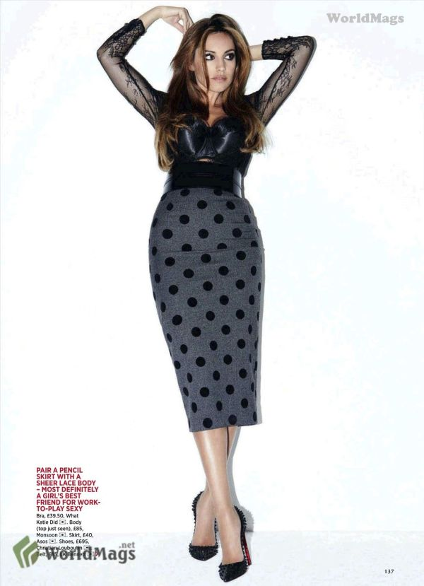Kelly Brook October 2011