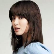 Model Rambut Wanita Sebahu Ala Korea 11