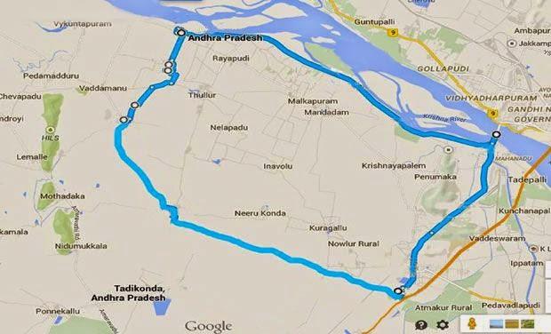 New AP capital area 29 village list | Ap Capital