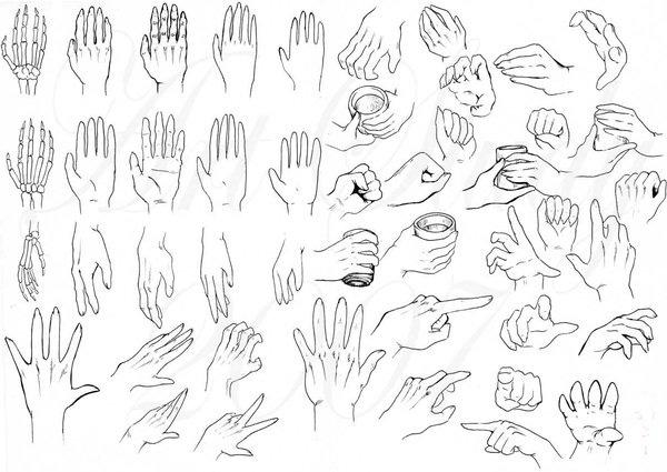 رسم اليد