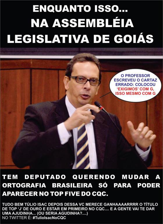 Motivaiconal: Deputado Tulio Isac vira meme na internet depois de gafe...