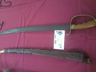pedang hitam, pameran pedang, usm,