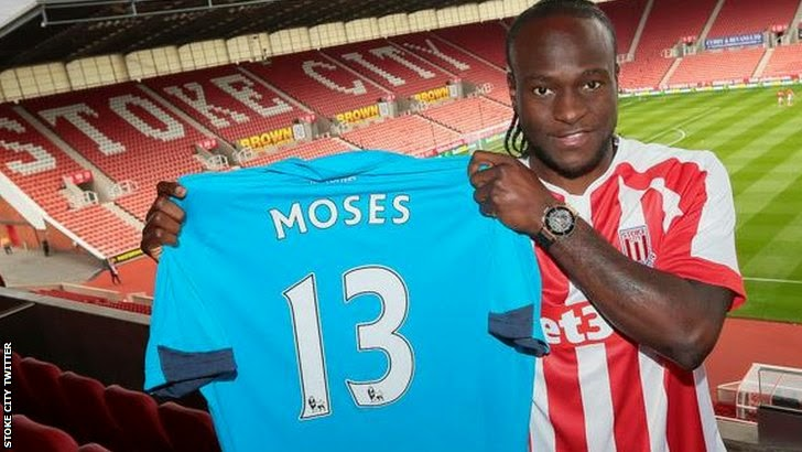 Victor Moses joins Odemwingie at Stoke CityVictor Moses Car