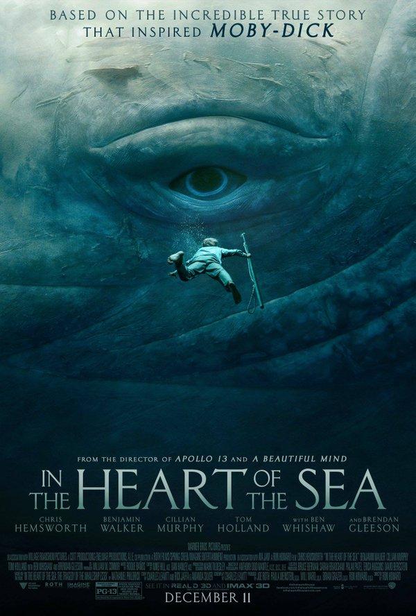 映画 白鯨との闘い ポスター