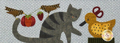 Purrfectly Pieced   from Shabby Fabrics
