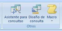 Consultas de selección en Access 2007