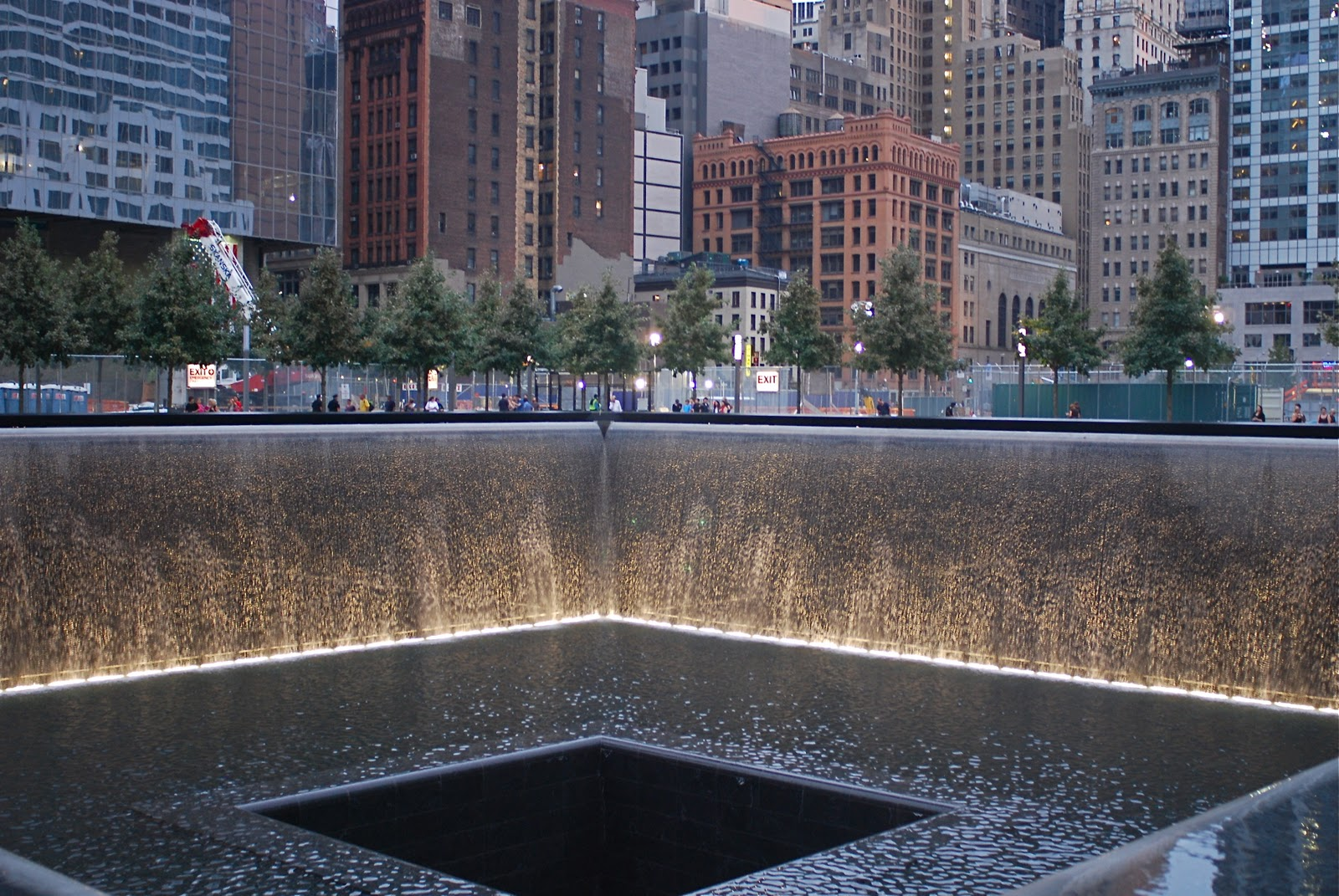 Nyc nyc the newly opened national september 11 memorial - Ground zero pools ...