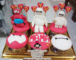 Baymax Cupcake BIG HERO 5