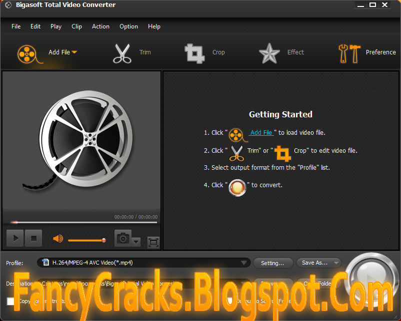 Bigasoft Total Video Converter v4.2.8.5275 Download Full Version With Working Key