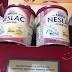 Amostras Grátis Recebidas - Nestlé Neslac Comfor