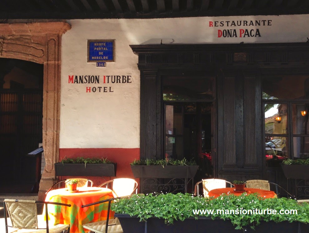 Restaurants in Patzcuaro at Plaza Vasco de Quiroga