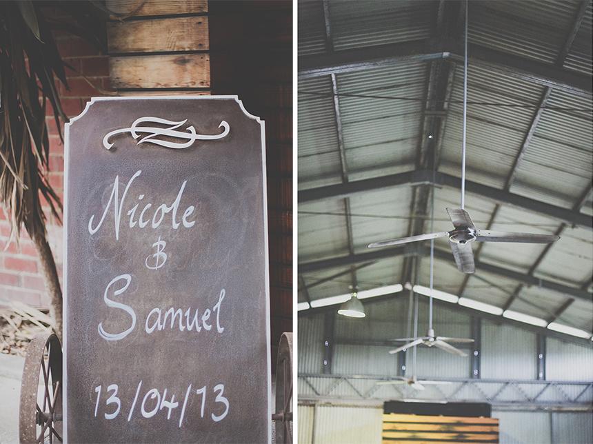 wedding ceremony shed melbourne