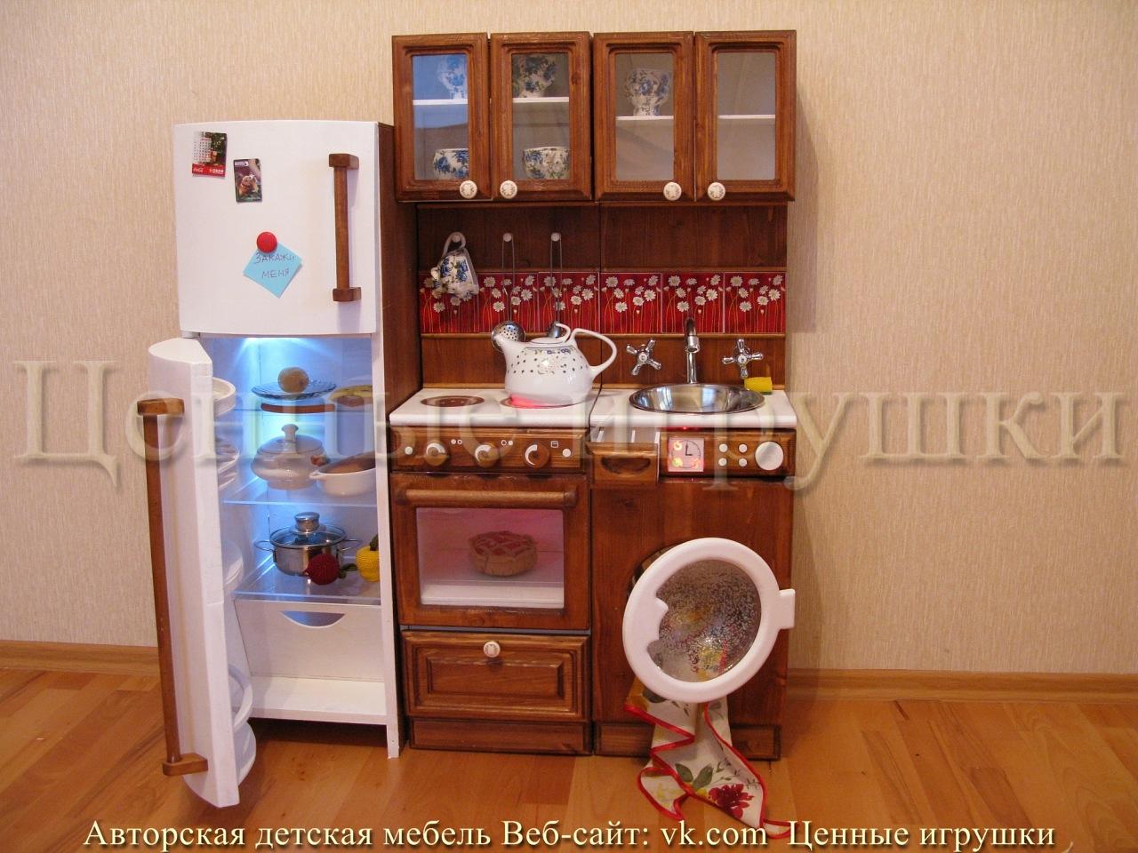 Детская кухня своими руками очень простая конструкция 47