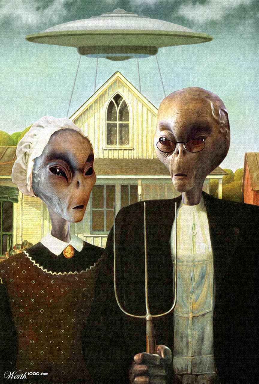 American Gothic Parodies Part 1