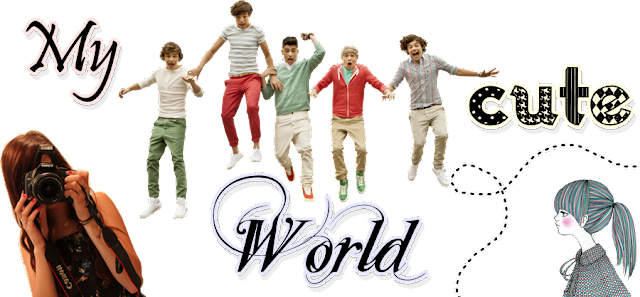 my world cute