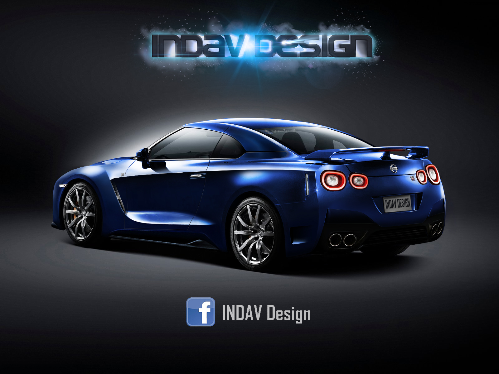 2017 Nissan GT-R Brought Up To Date With Virtual Facelift ...